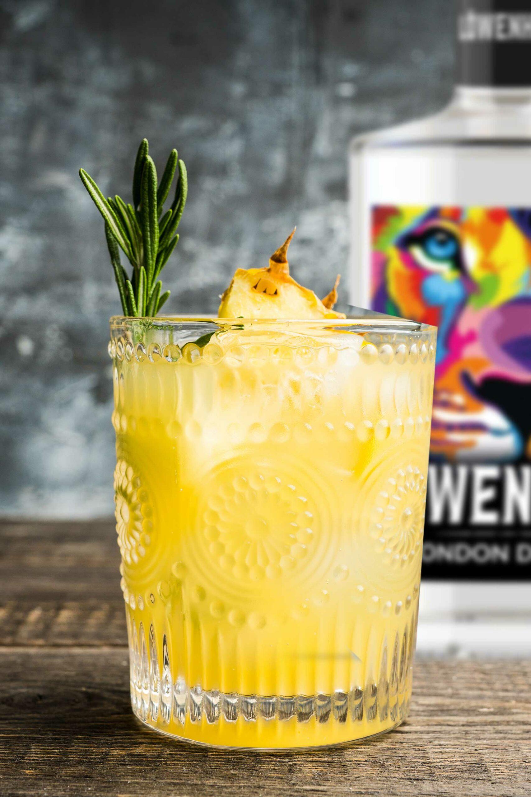 LÖWENHUND Gin old fashioned Rezept